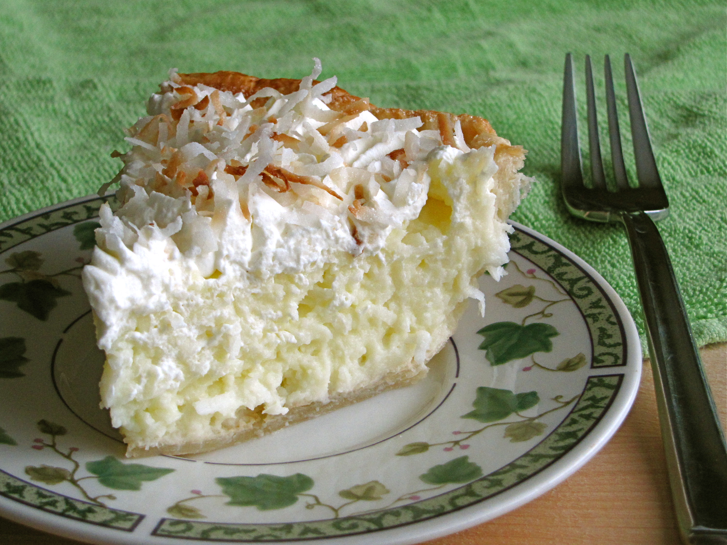 coconut cream pie day five food finds about coconuts the coconut ...
