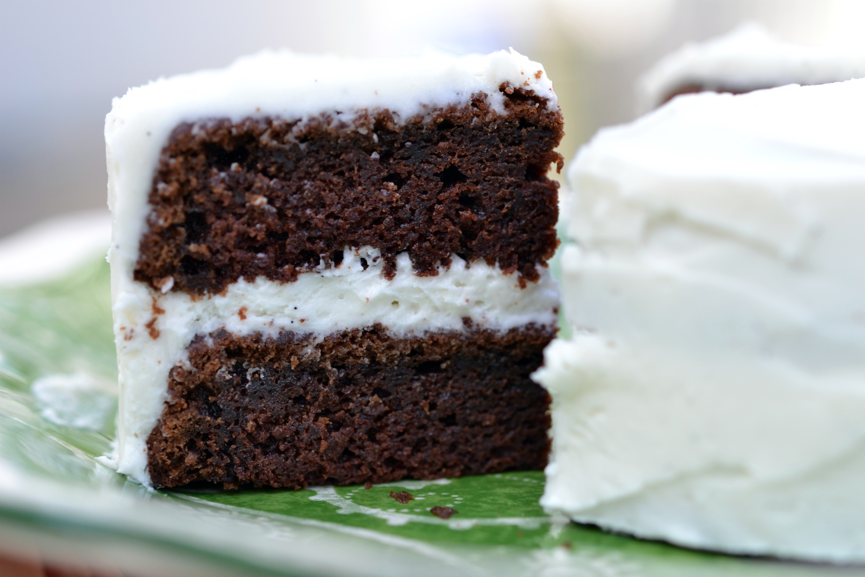 Devils Food Cake With Cream Cheese Icing