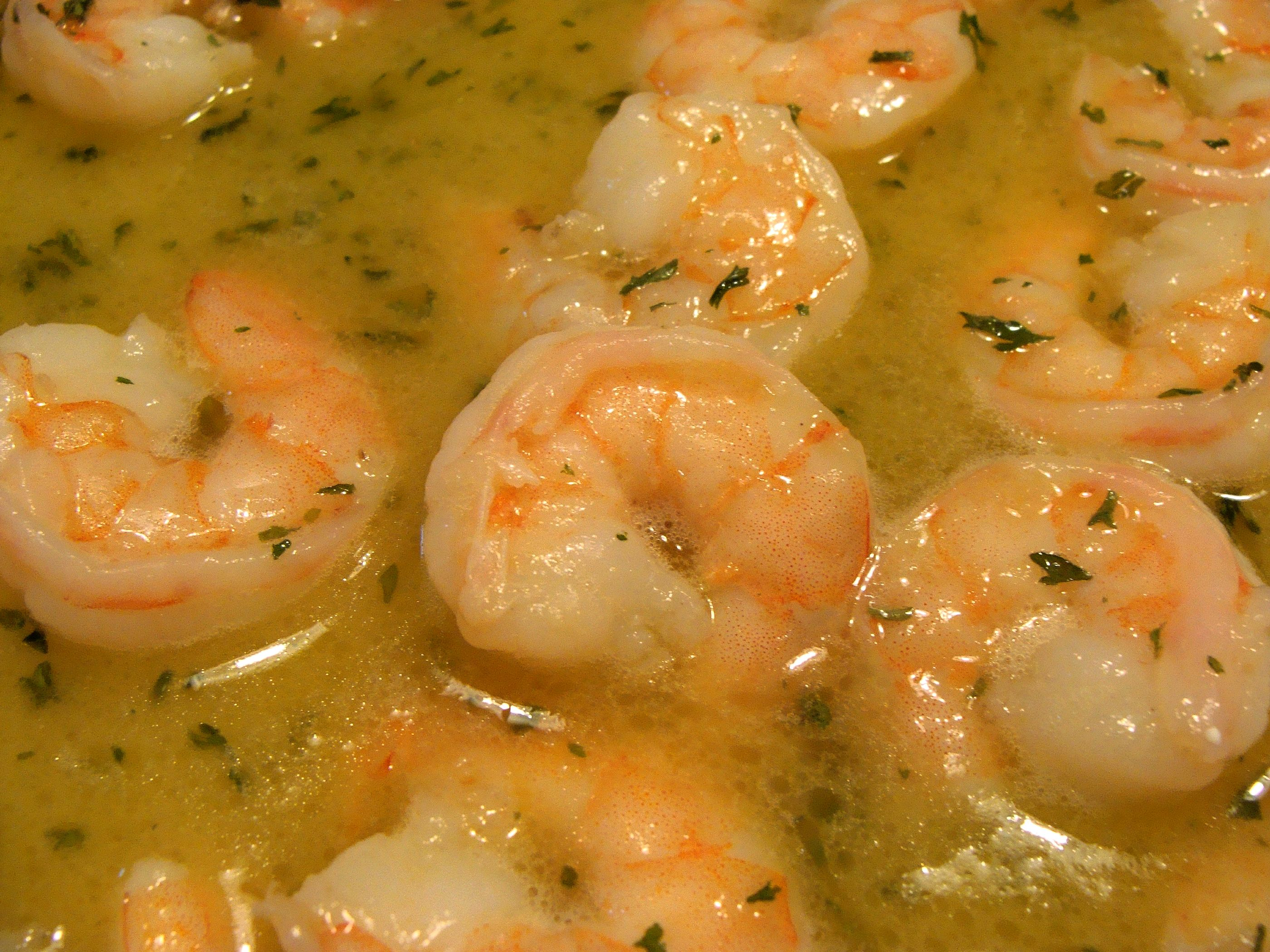 ... shrimp scampi the word scampi means shrimp therefore shrimp scampi is