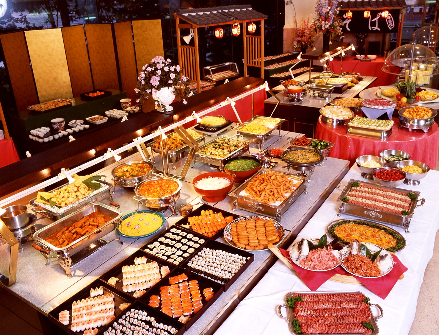 All You Can Eat Buffet Food