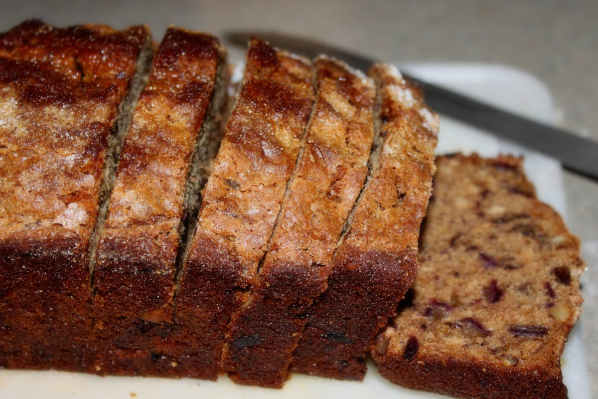 It's National Date Nut Bread Day! Date nut bread is the perfect dish ...