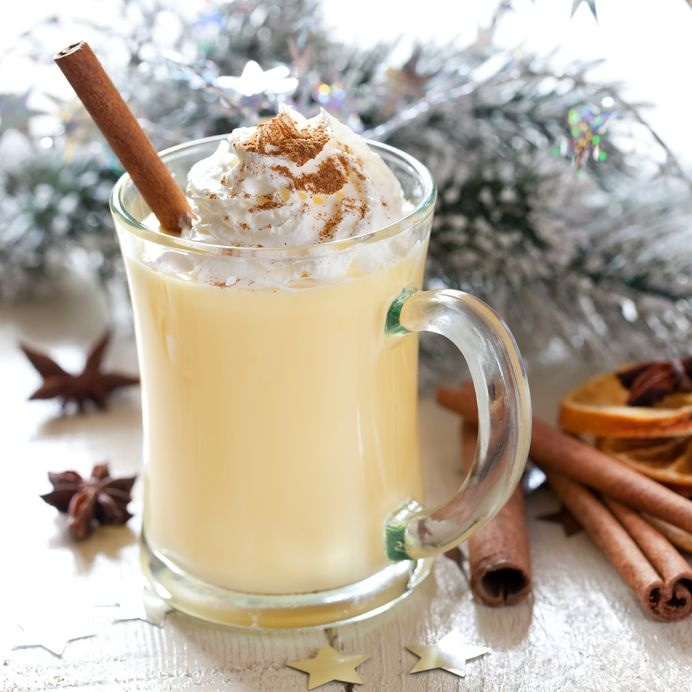 Egg Nog Using Heavy Cream