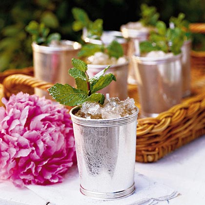 MyRecipes- the perfect Mint julep