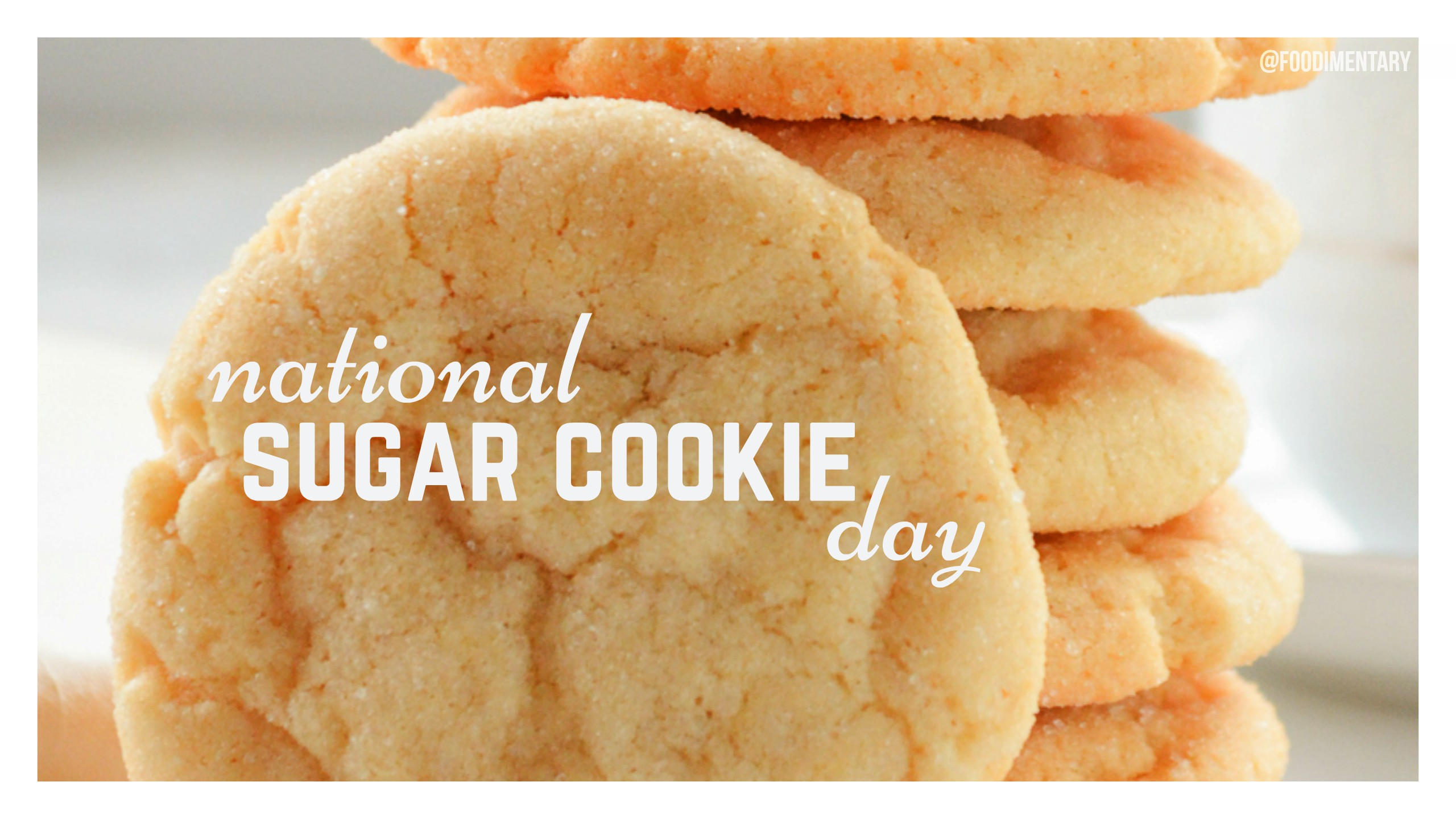 July 9th is National Sugar Cookie Day | Foodimentary ...