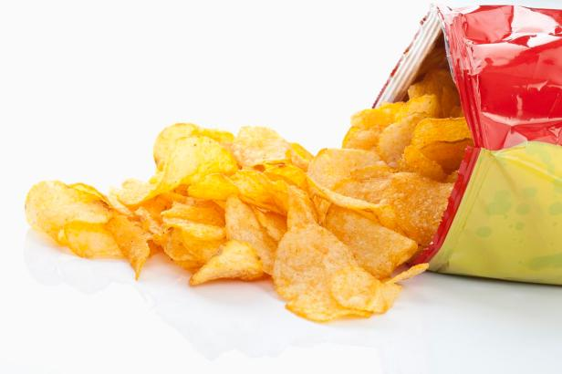 Bag Potatoe chips, Kartoffelchips