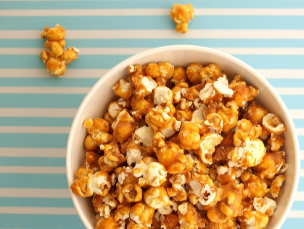 ... caramel popcorn popcorn is made by boiling the water inside the corn