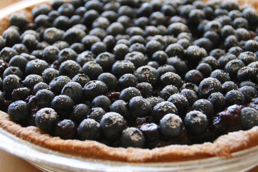 Dorothys-Fresh-Blueberry-Pie