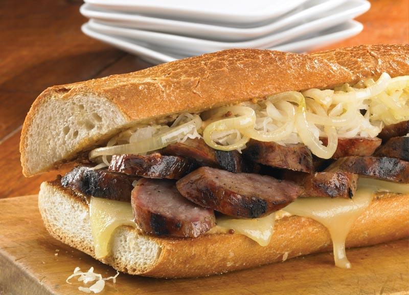 Hoagie Roll Hot Dog