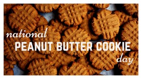 Image result for National peanut butter cookie day