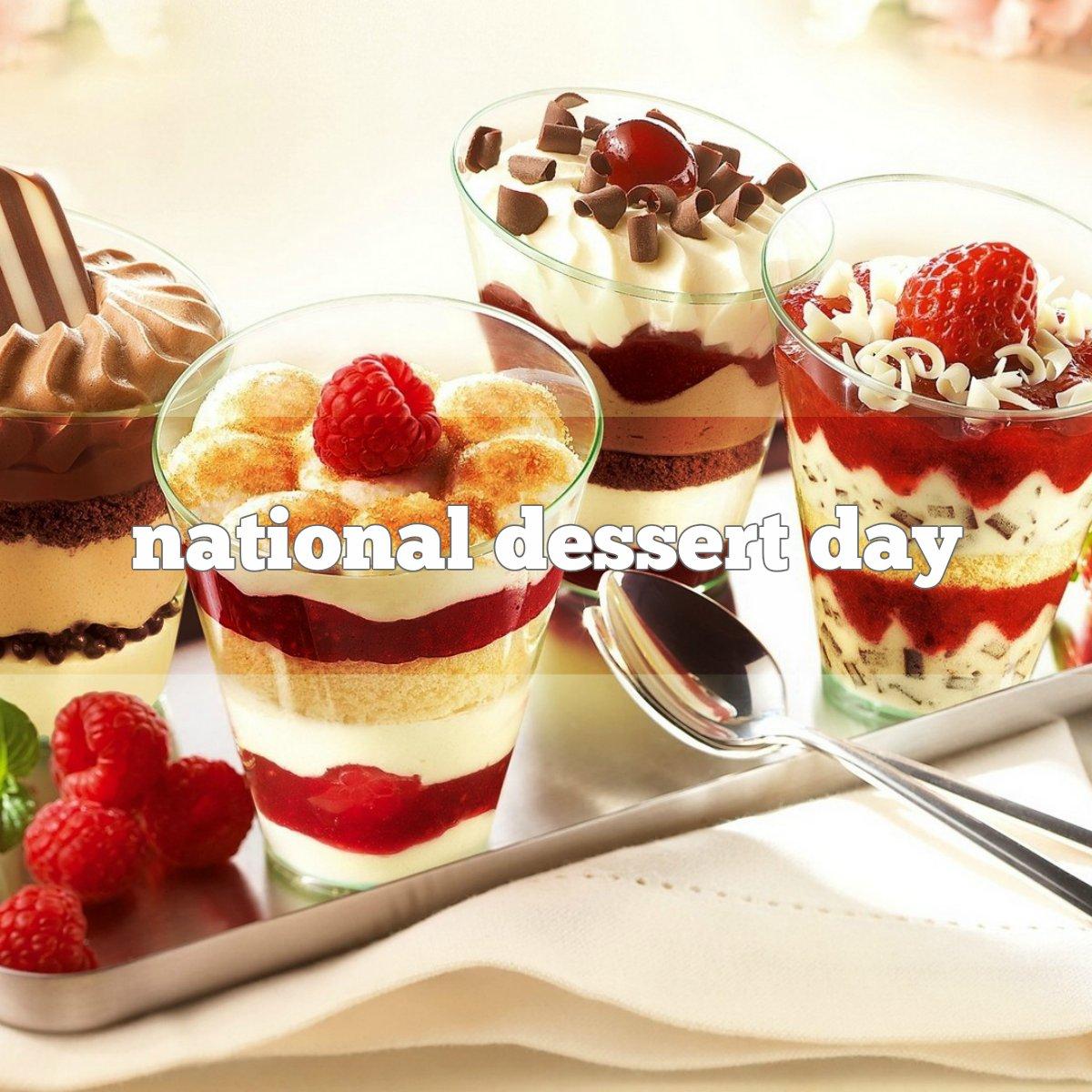 October 9 Is National Dessert Day