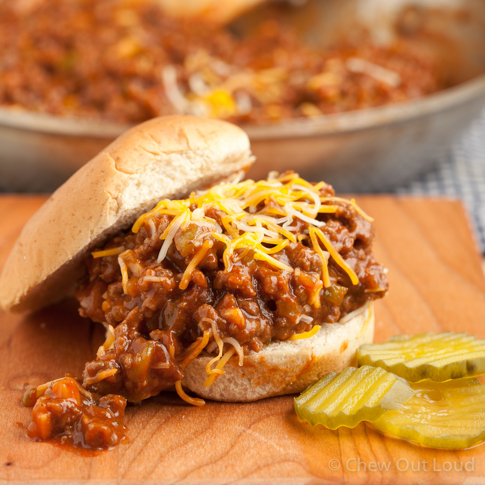 March 18 is National Sloppy Joe Day | Foodimentary ...
