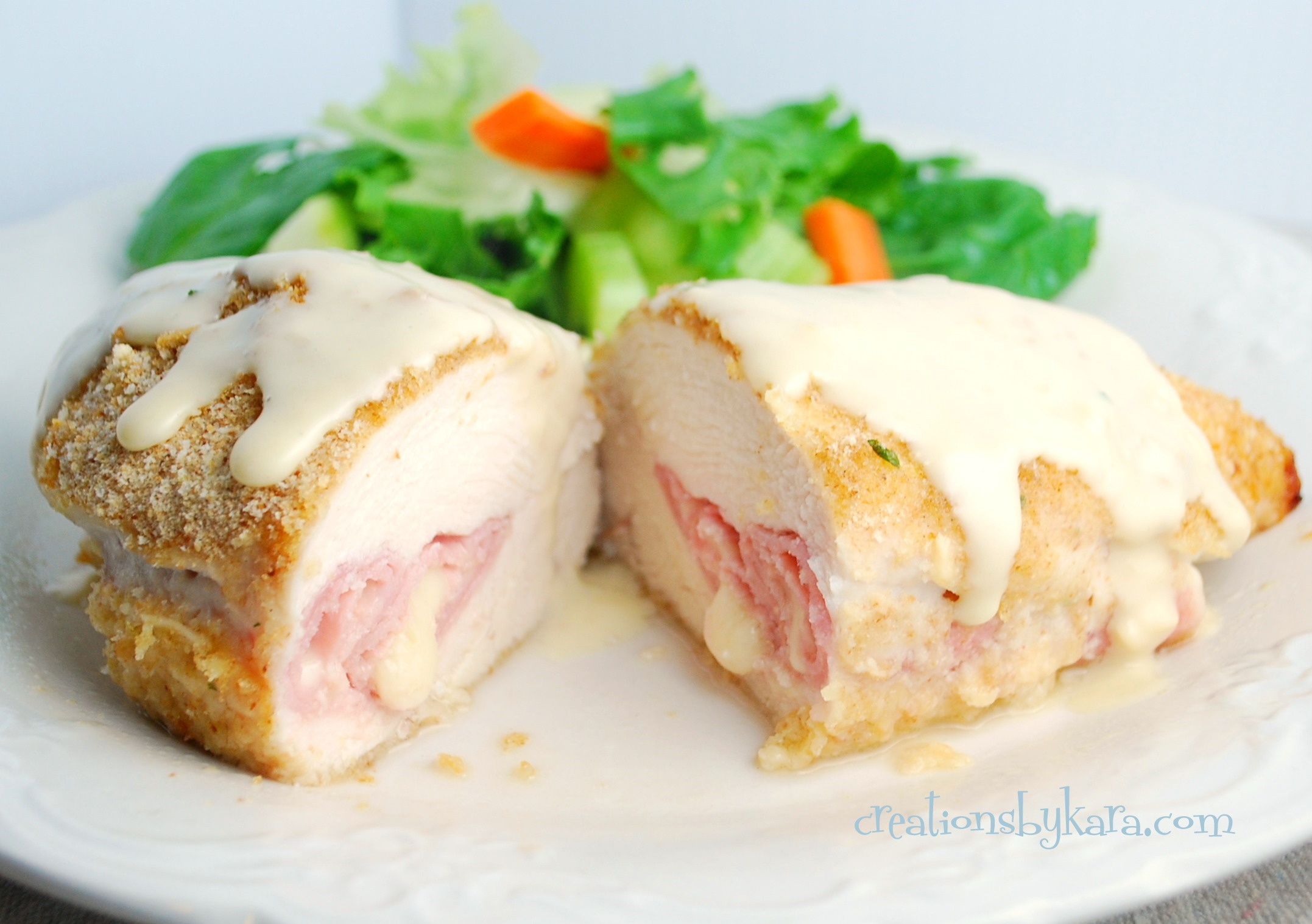 French recipe for chicken cordon bleu