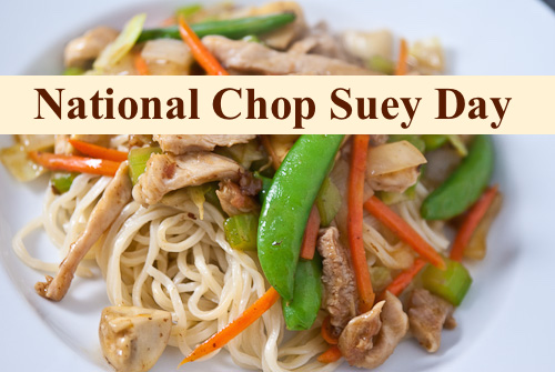 todays 5 facts about chop suey chop suey is a chinese american dish ...
