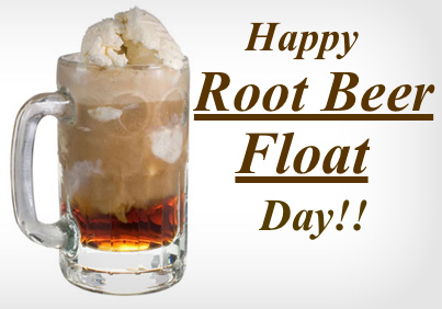 August 6 is National Root Beer Float Day