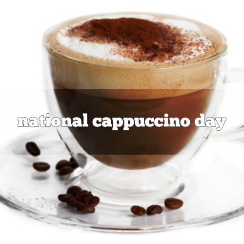 November 8 is national cappuccino day foodimentary national food holidays - Bilder cappuccino ...