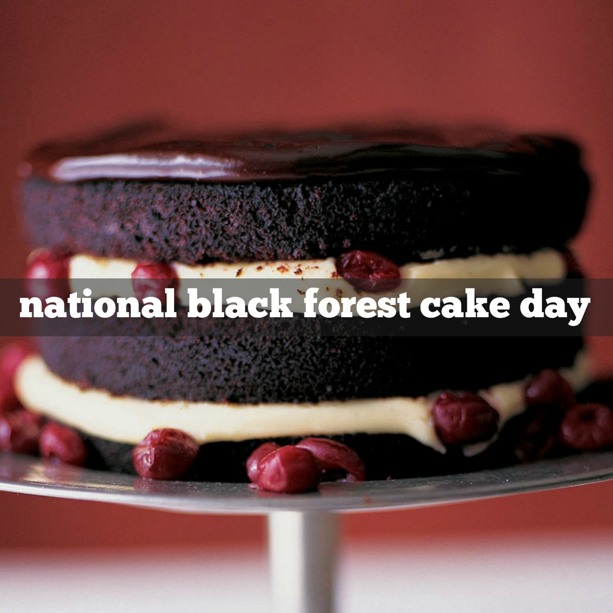 March 28th is National Black Forest Cake Day | Foodimentary ...