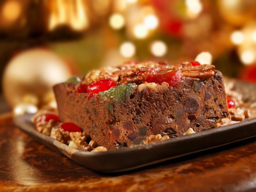 No Fruit Christmas Cake