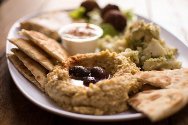 法拉菲尔希腊食品正宗希腊鹰嘴188bet体育豆
