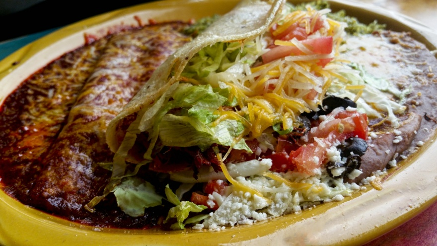 enchilada-and-taco-meal