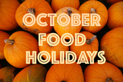 octoberfoodholiday